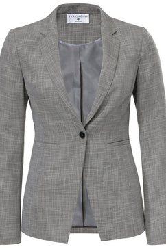 korte blazer grijs
