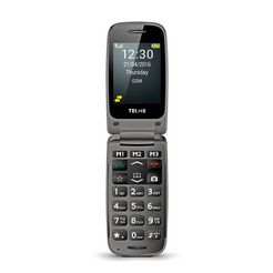 telme mobiele telefoon »x200« grijs