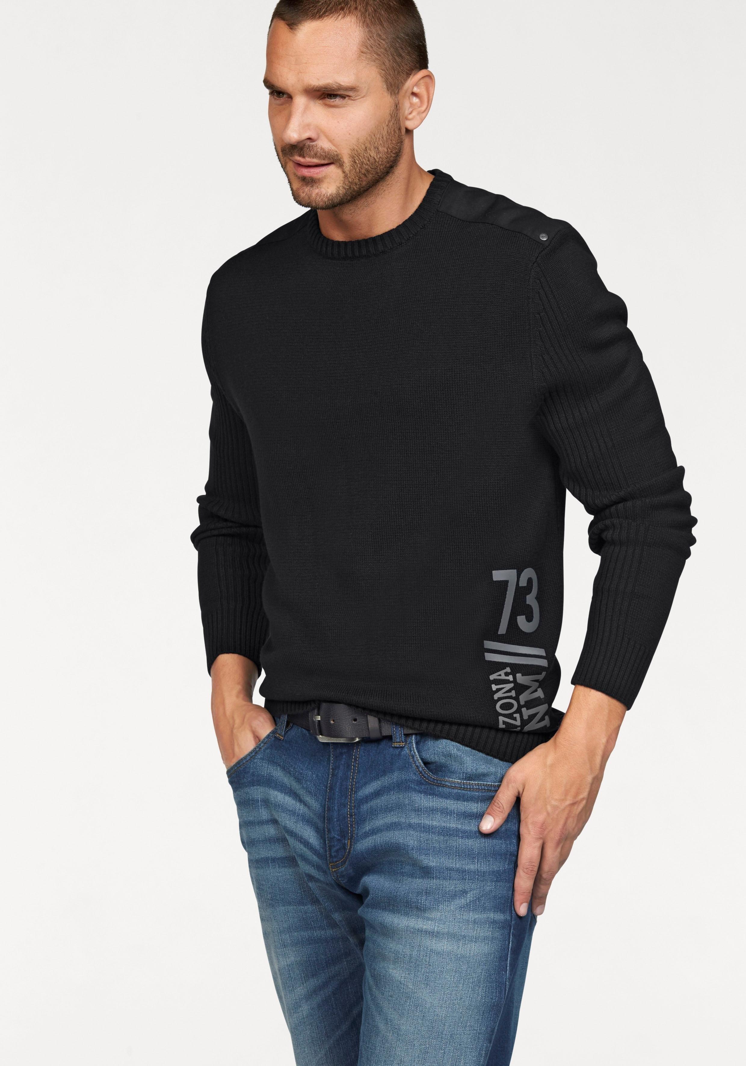 ARIZONA trui met ronde hals goedkoop op otto.nl kopen