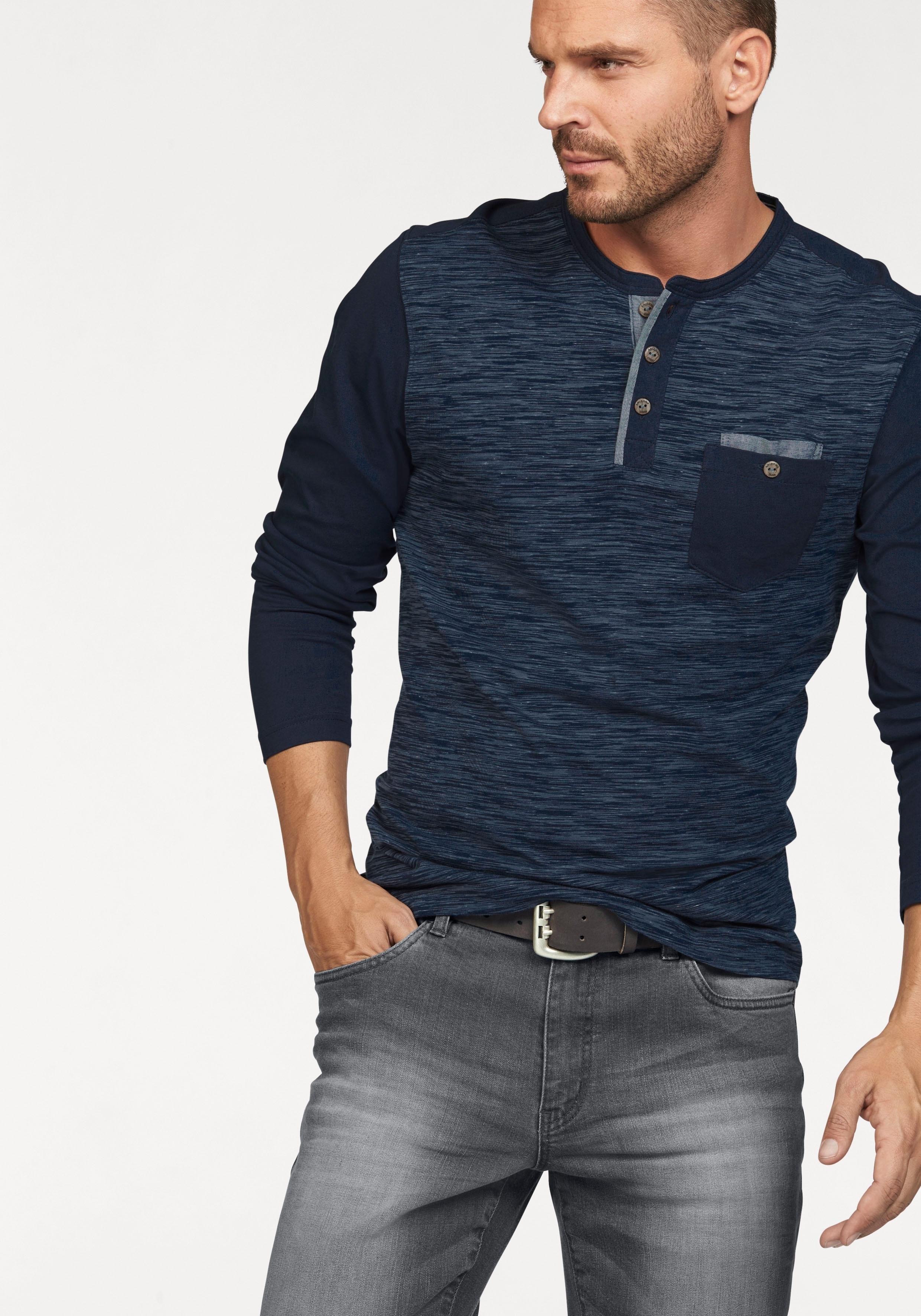 ARIZONA shirt met lange mouwen - verschillende betaalmethodes