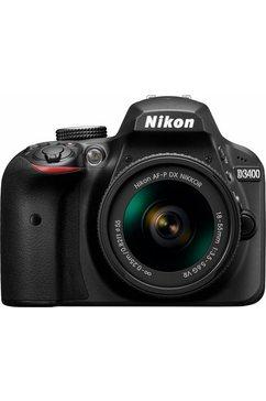 D3400 Kit AF-P 18-55 VR spiegelreflexcamera, AF-P 18-55 VR zoom, 24,2 megapixel