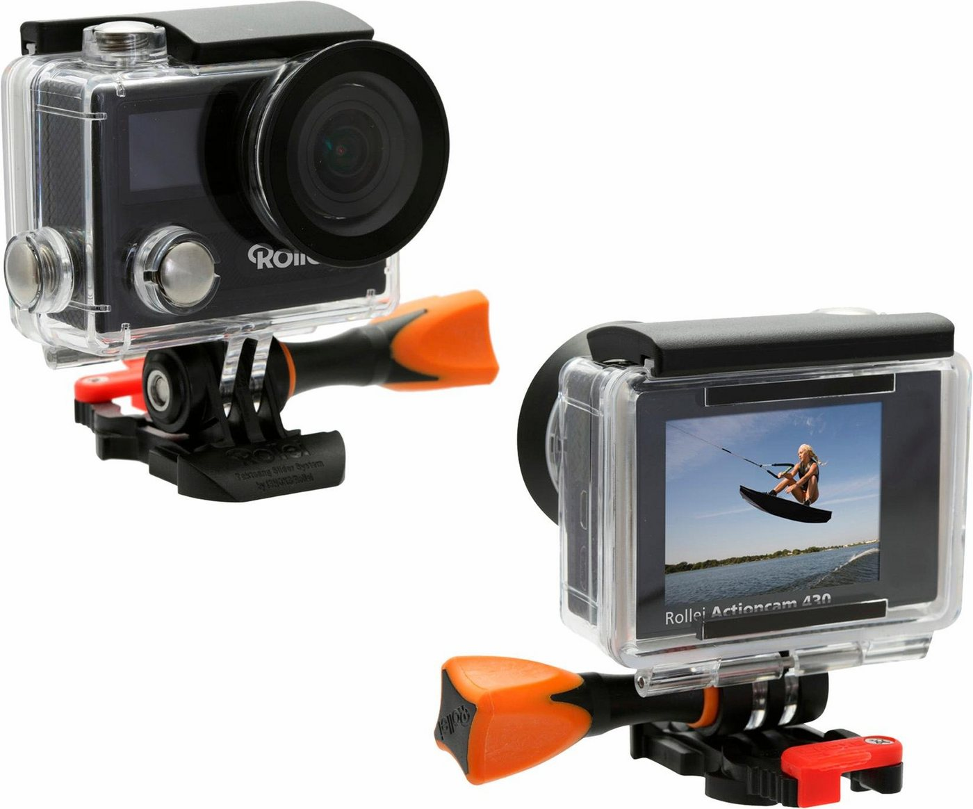 ROLLEI 430 4K (Ultra HD) actioncam WLAN