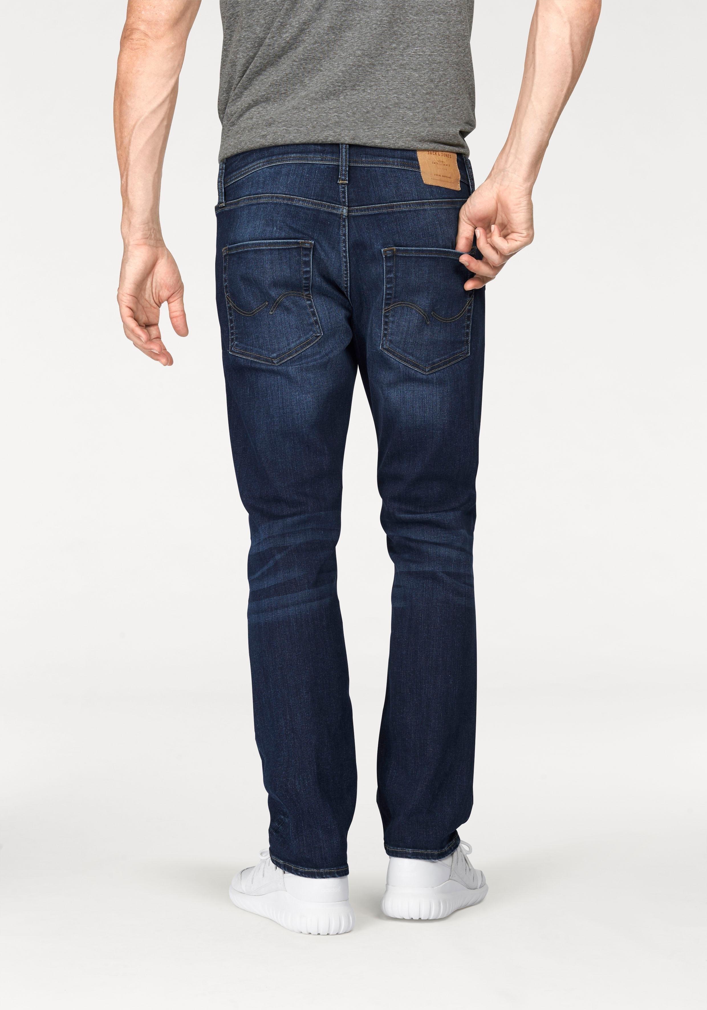 Jack & Jones Slim Fit-jeans »Clark« - verschillende betaalmethodes