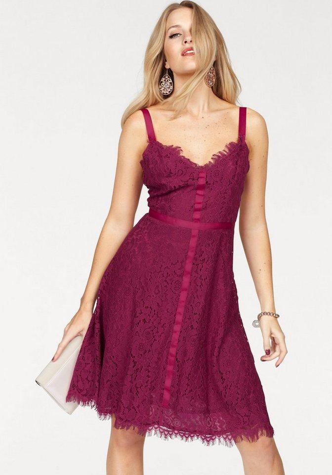VERO MODA kanten jurk »KATE« roze