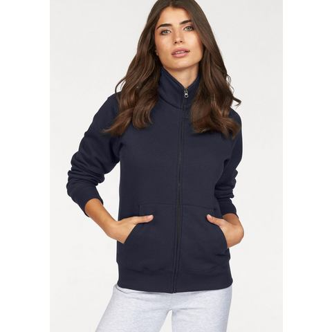 NU 20% KORTING: FRUIT OF THE LOOM sweatshirt »Lady-fit Premium Sweat Jacket«