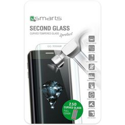 4smarts folie »second glass colour frame voor iphone 8-7« wit
