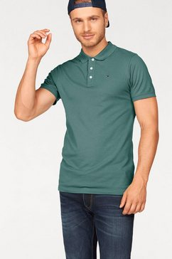 tommy jeans poloshirt »thdm basic polo s-s 1« rood