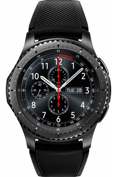Gear S3 Frontier smartwatch, Tizen, 3,3 cm (1,3 inch) Super AMOLED-touch-display