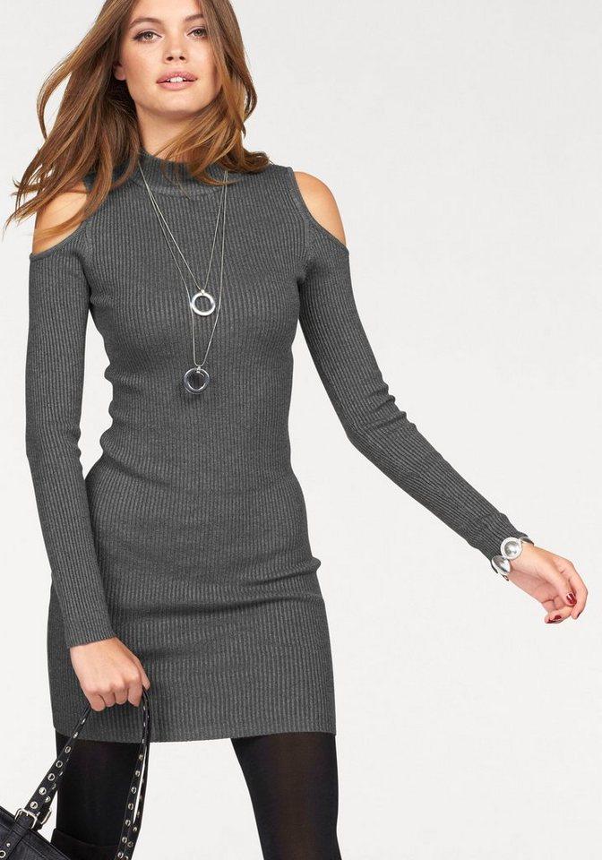NU 21% KORTING: Melrose tricotjurk grijs