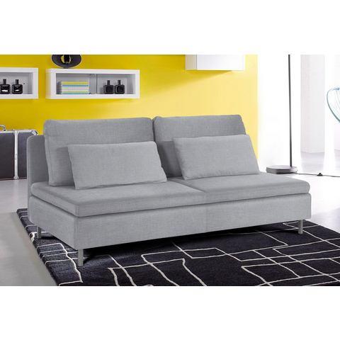 woonkamer driepersoons bankstel grijs Structuurstof fijn SIT en MORE zonder armleuningen