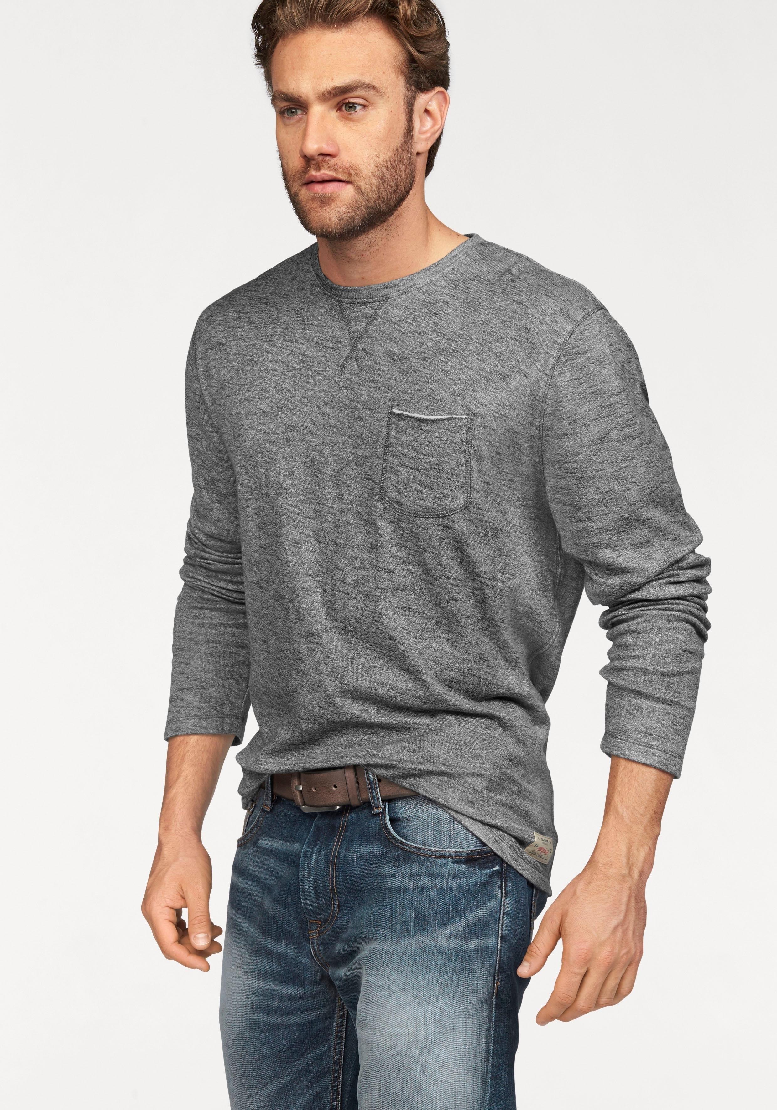 TOM TAILOR sweatshirt - gratis ruilen op otto.nl