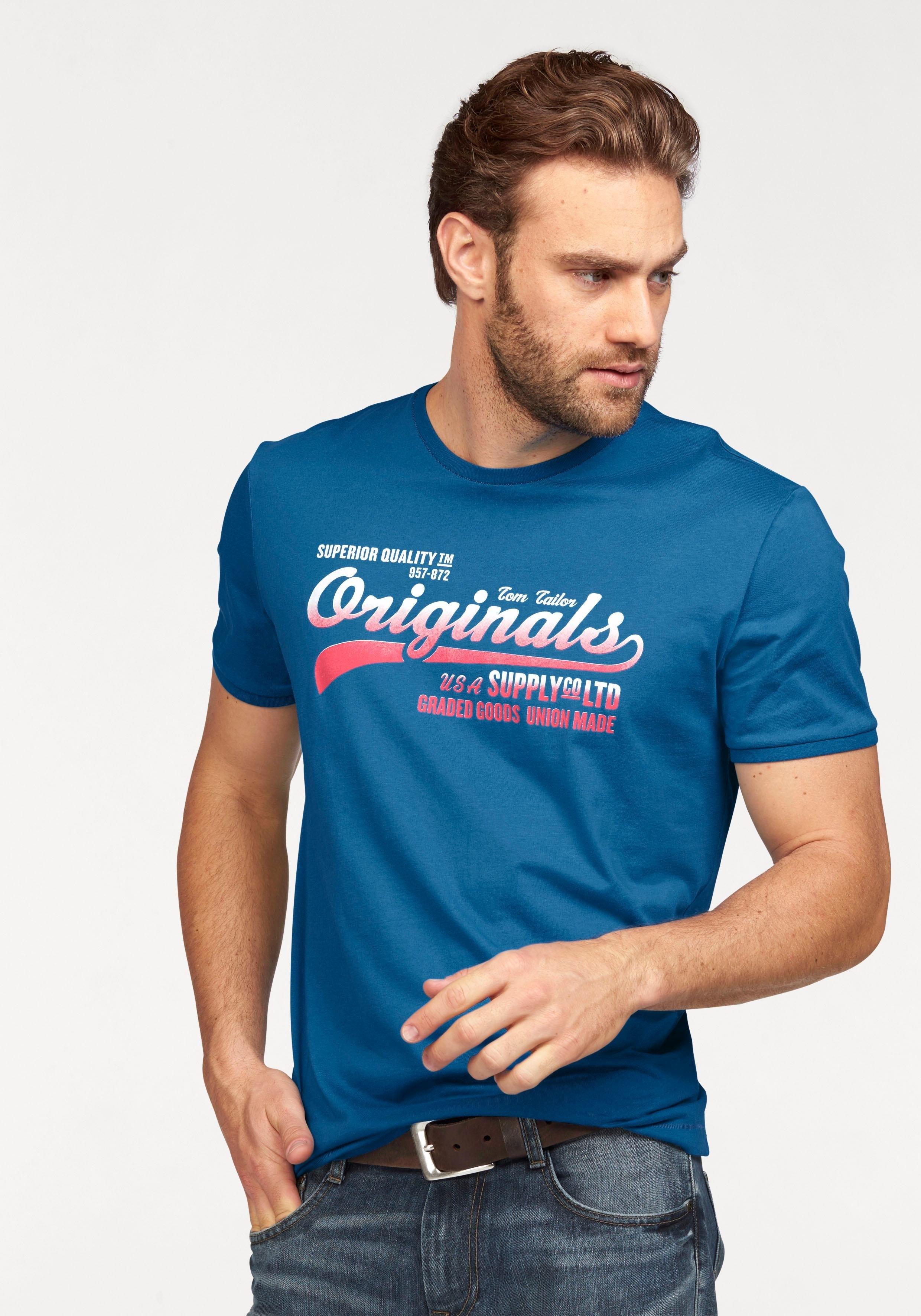 TOM TAILOR T-shirt in de webshop van OTTO kopen