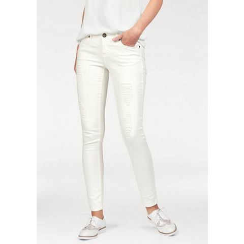 LAURA SCOTT Destroyed-jeans in used-look