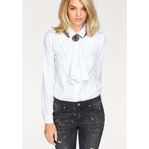 NU 15% KORTING: LAURA SCOTT rucheblouse