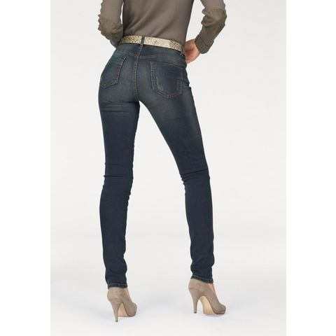 NU 15% KORTING: ARIZONA skinny-jeans »High-Waist«