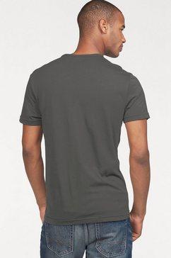 s.oliver t-shirt met print grijs