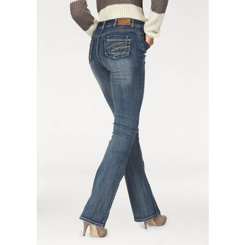 ARIZONA bootcutjeans »high waist«