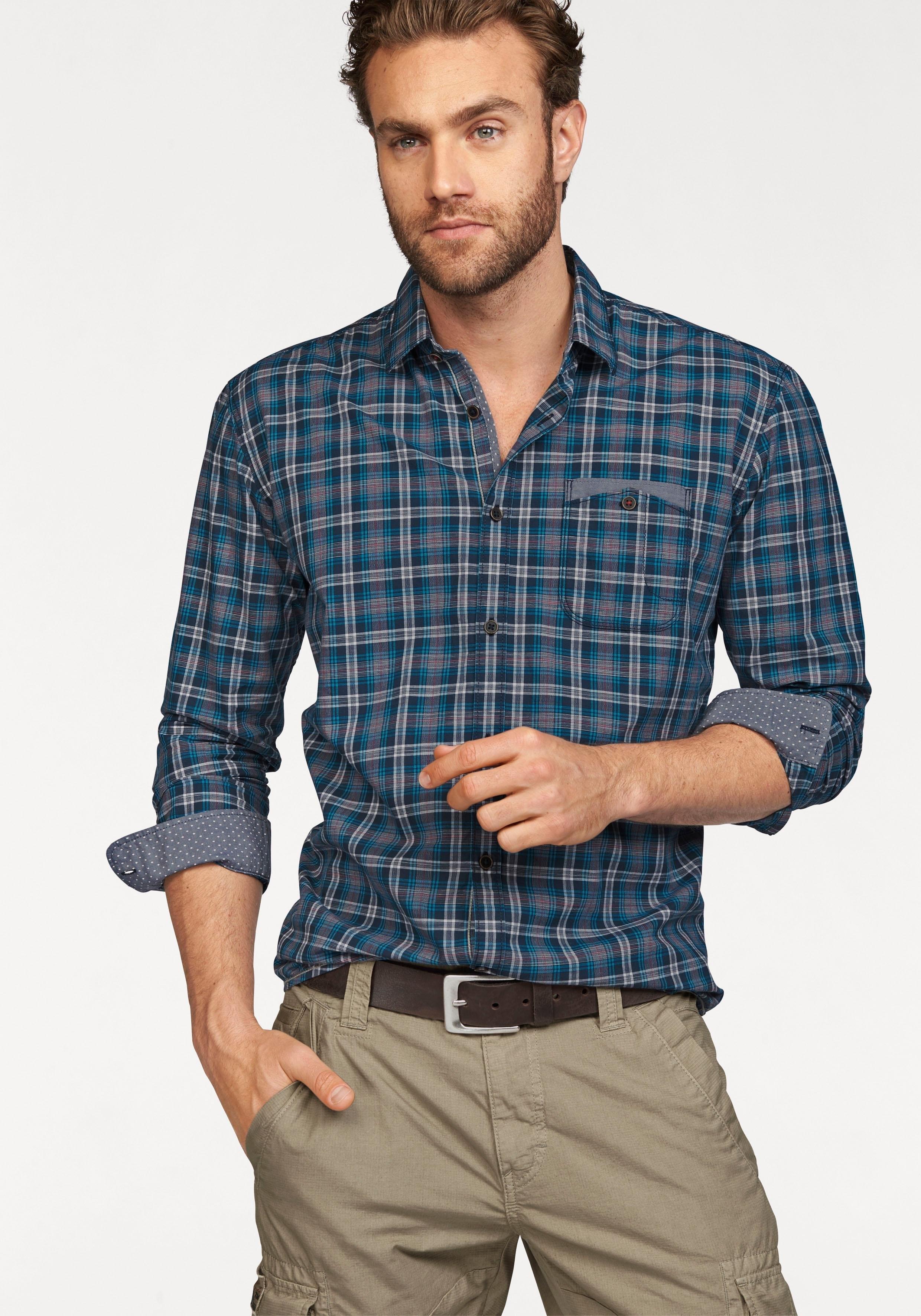 TOM TAILOR geruit overhemd nu online bestellen