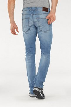 bruno banani slim fit jeans jimmy (stretch) blauw