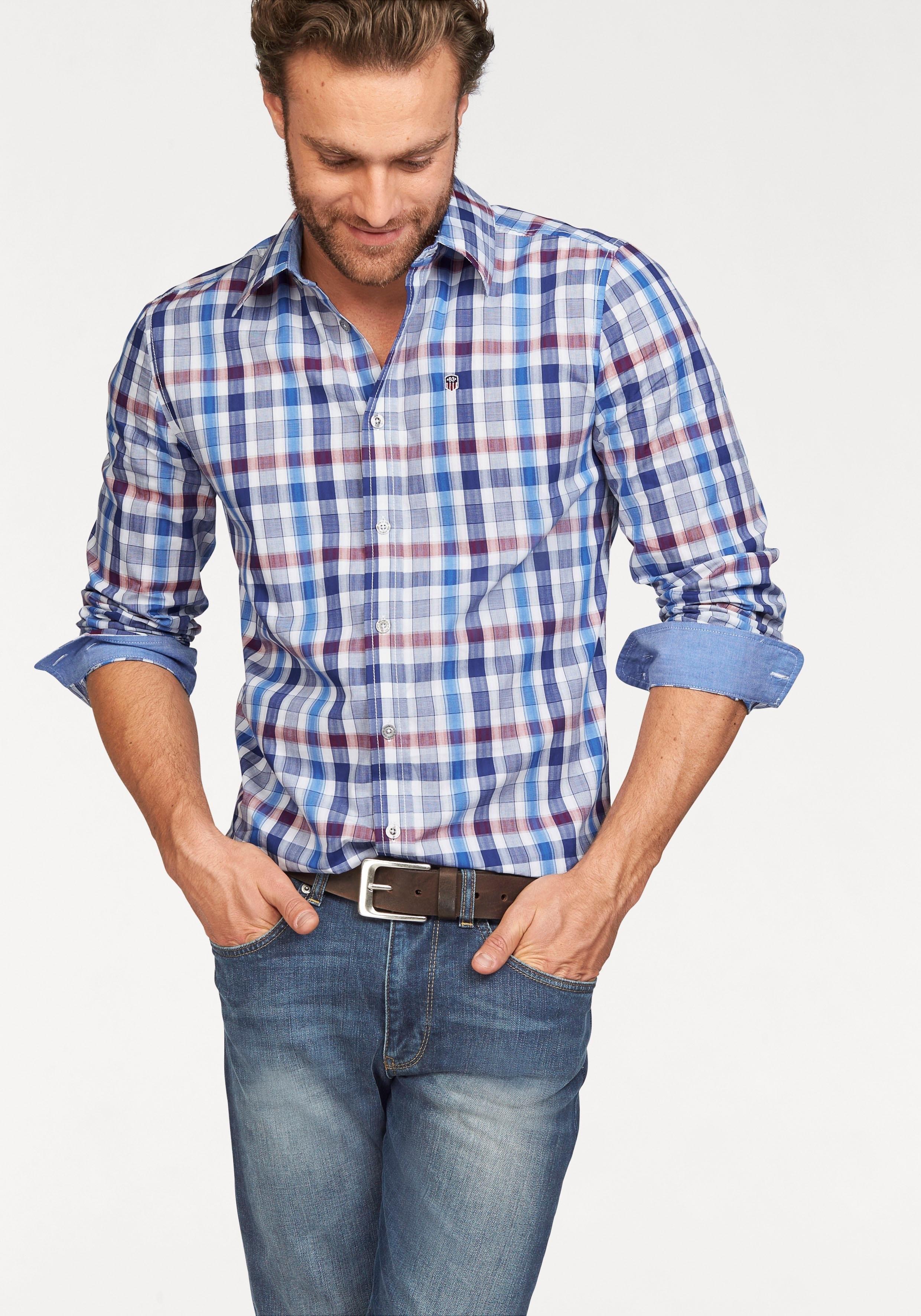 Geblokt Overhemd.Rhode Island Geruit Overhemd In De Online Winkel Otto