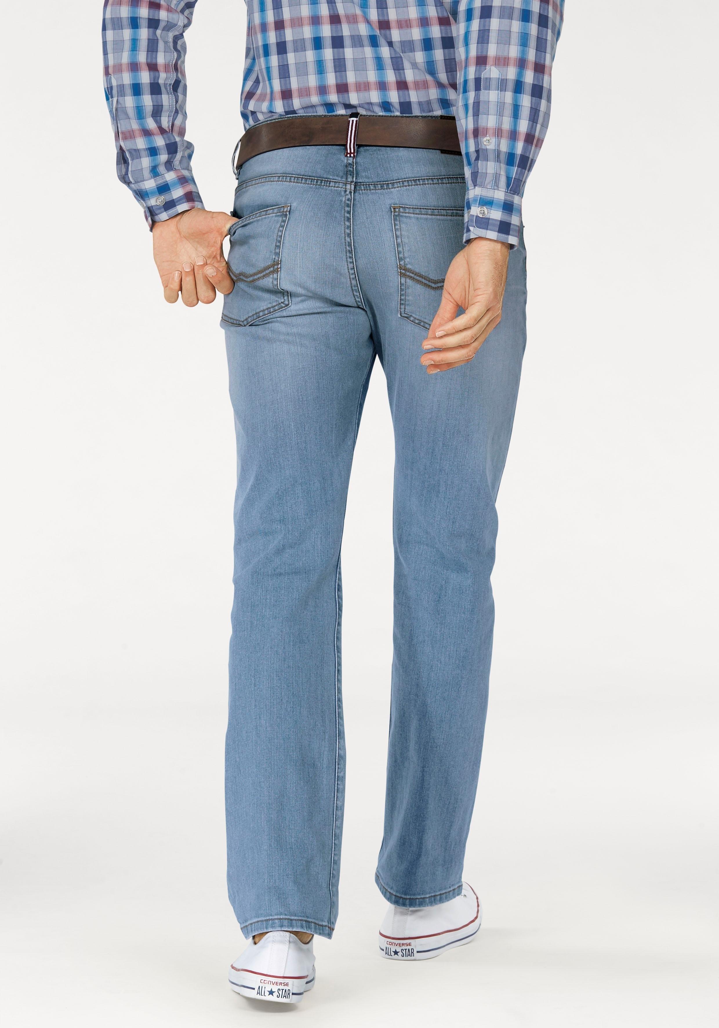 Rhode Island Stretch-jeans in used-wassing - verschillende betaalmethodes