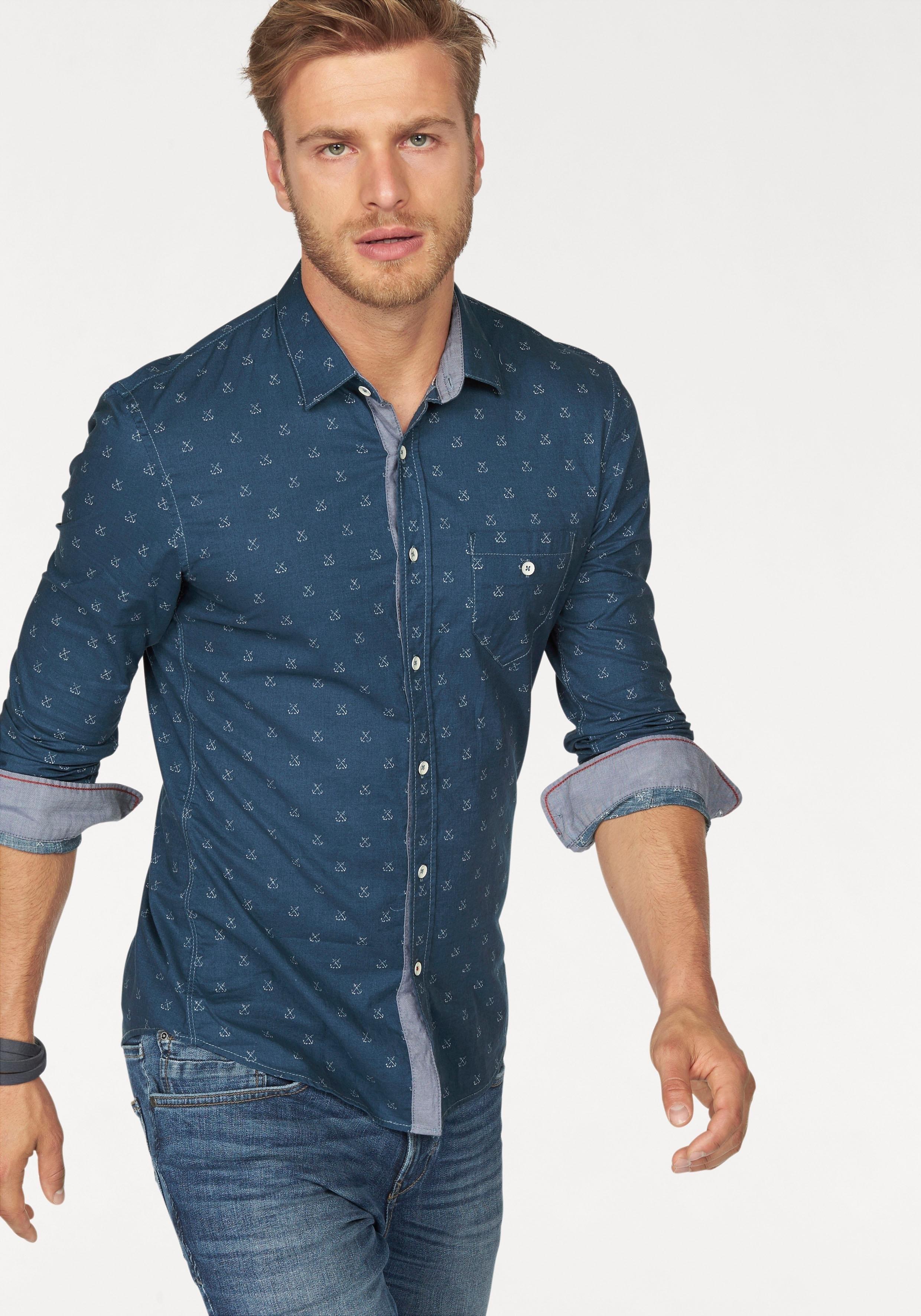 Op zoek naar een TOM TAILOR Denim overhemd met lange mouwen? Koop online bij OTTO