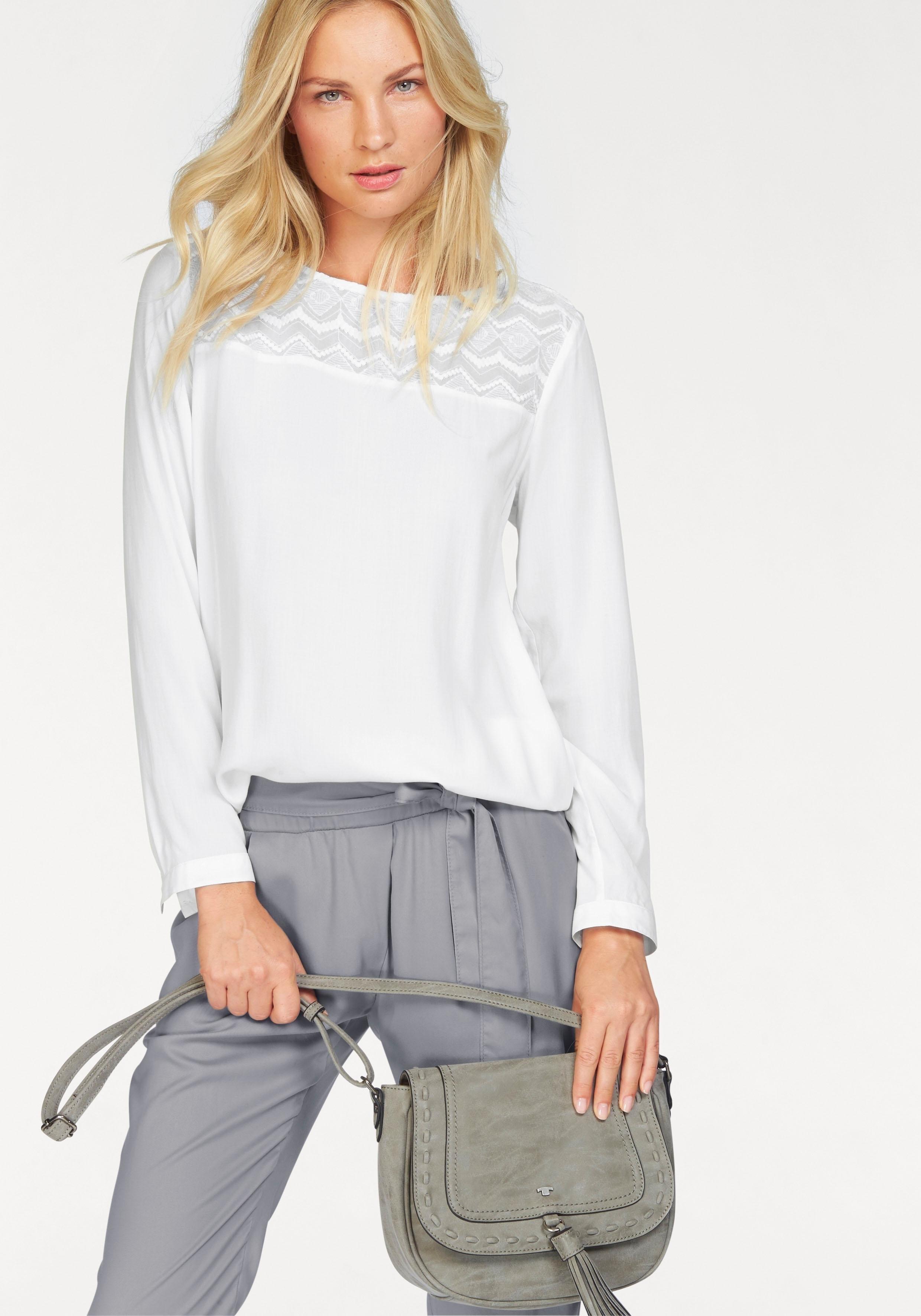 TOM TAILOR klassieke blouse bij OTTO online kopen