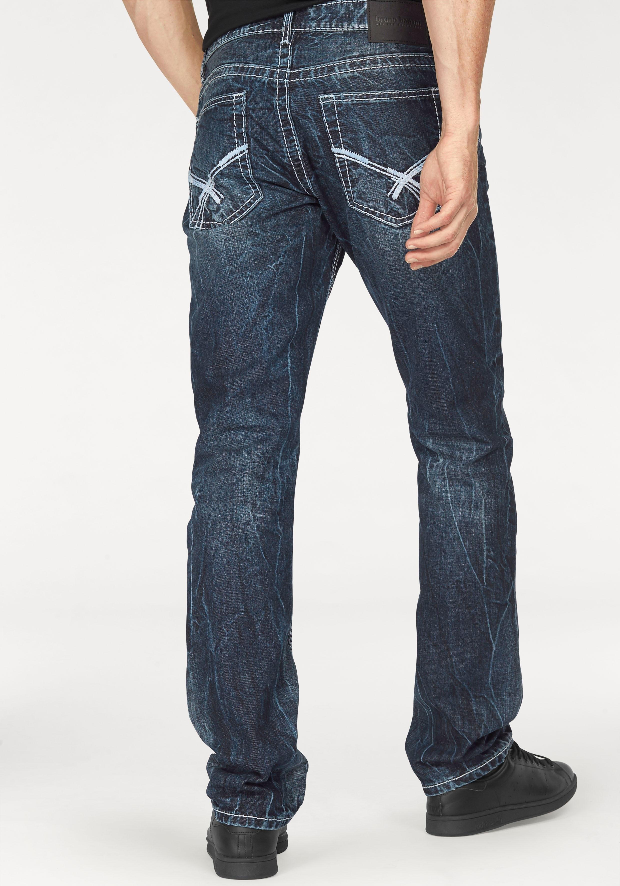 bruno banani straight-jeans »Carlos« online kopen op otto.nl