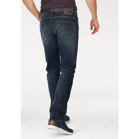 NU 15% KORTING: MUSTANG stretchjeans »Chicago Tapered«