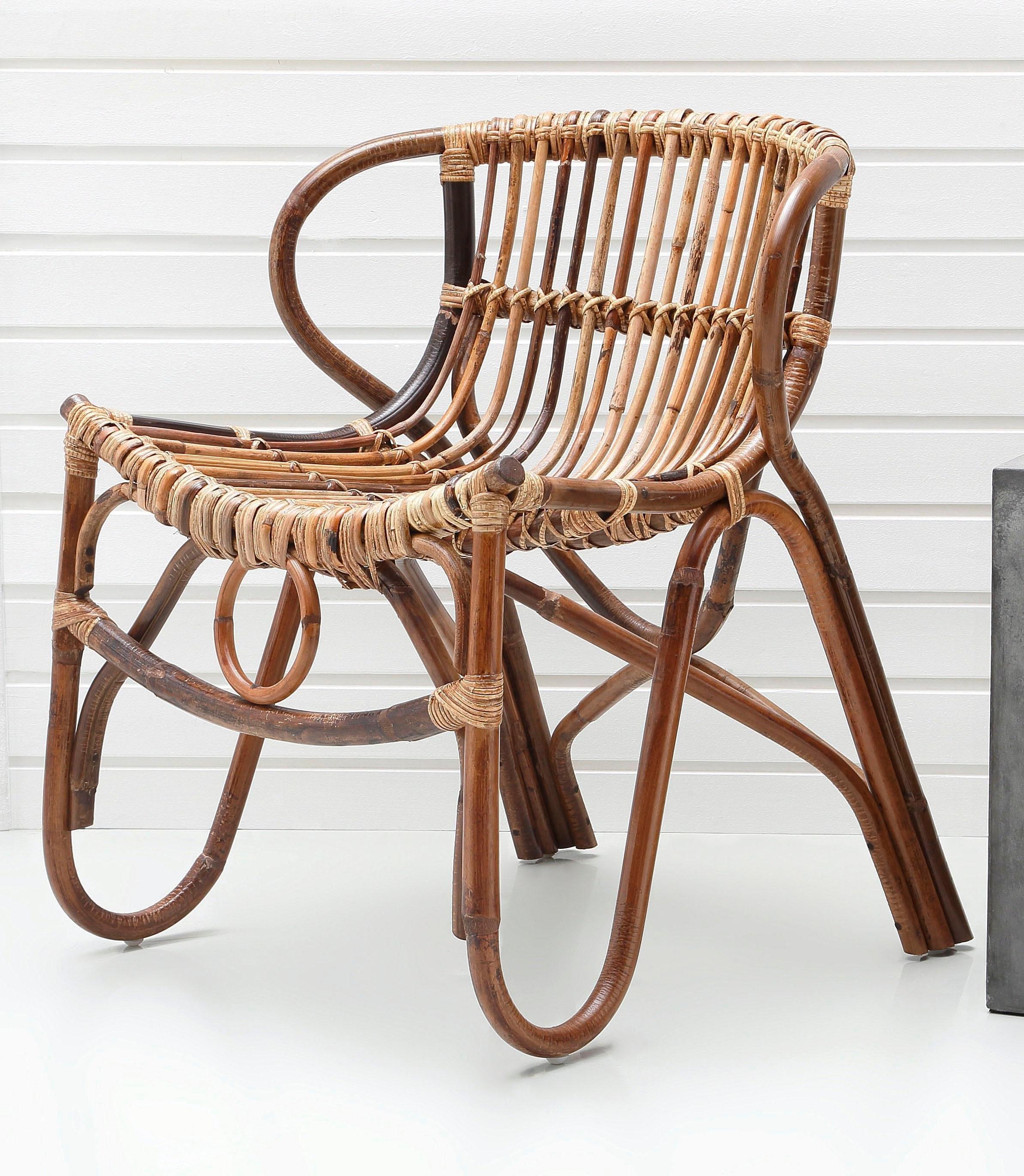 sit rotan stoel vintage makkelijk gekocht otto. Black Bedroom Furniture Sets. Home Design Ideas