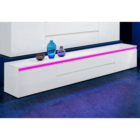 tecnos highboard breedte 180 cm hoogglans wit 91. Black Bedroom Furniture Sets. Home Design Ideas