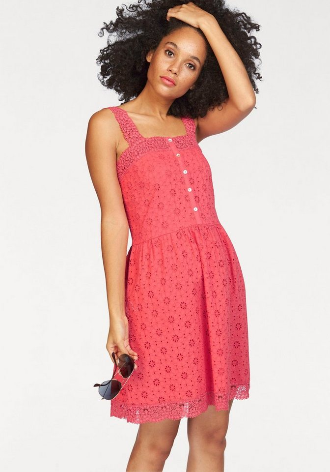 Superdry zomerjurk LACY MIX SKATER DRESS