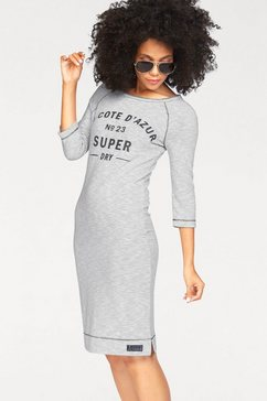jerseyjurk »HARBOUR SLOUCH CREW DRESS«