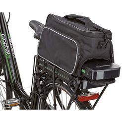 prophete fietstas, zwart zwart