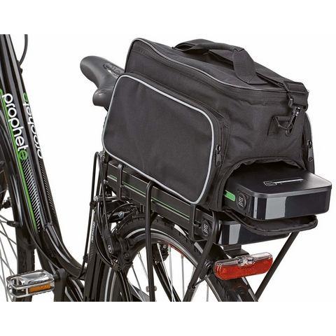 Prophete fietstas, zwart