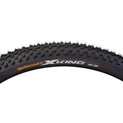 continental fietsbanden, zwart, »x-king mtb« zwart