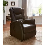 duo collection relaxfauteuil met afstandsbediening bruin