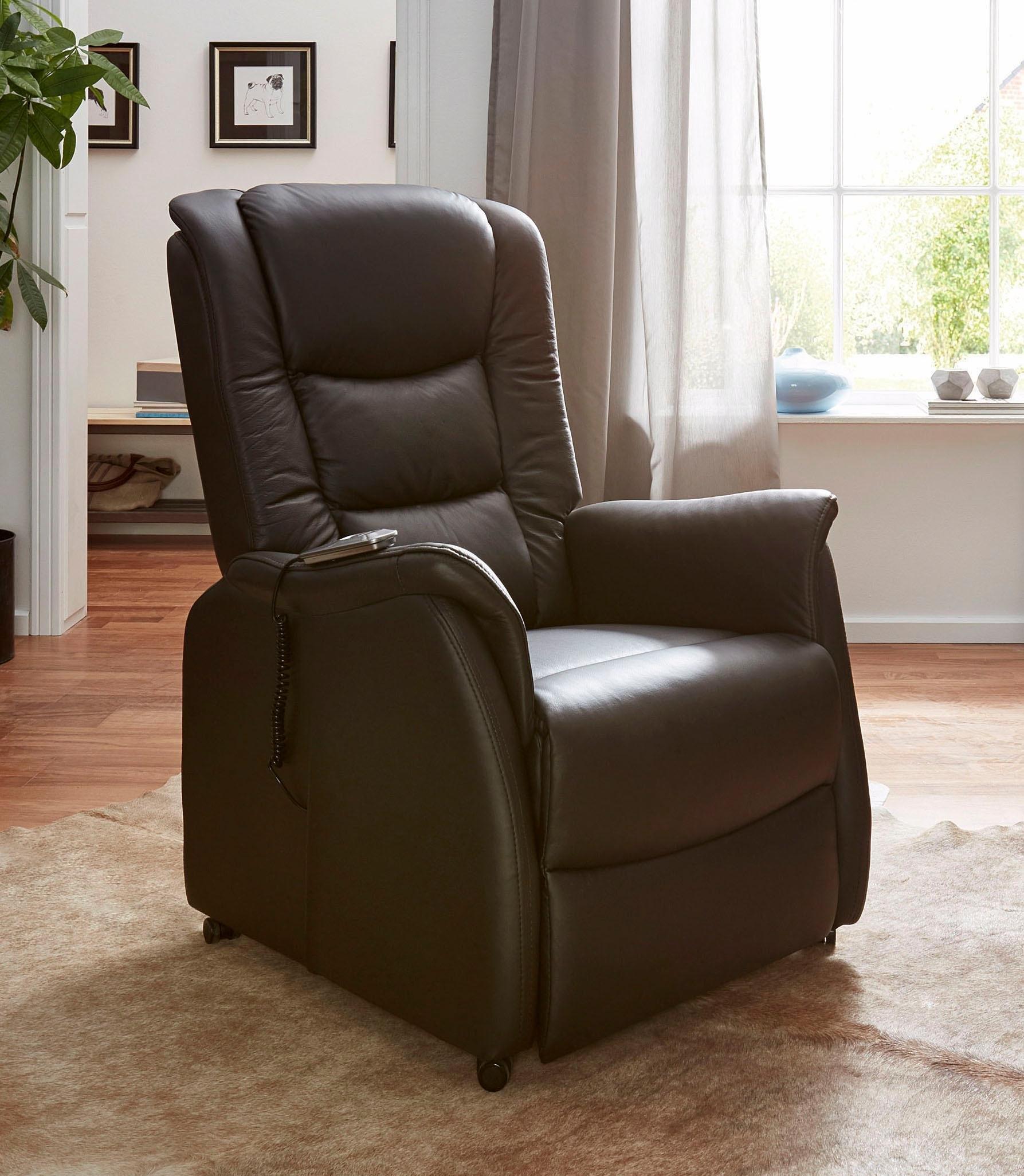 Duo Collection relaxfauteuil van natuurlijk leer in de webshop van OTTO kopen