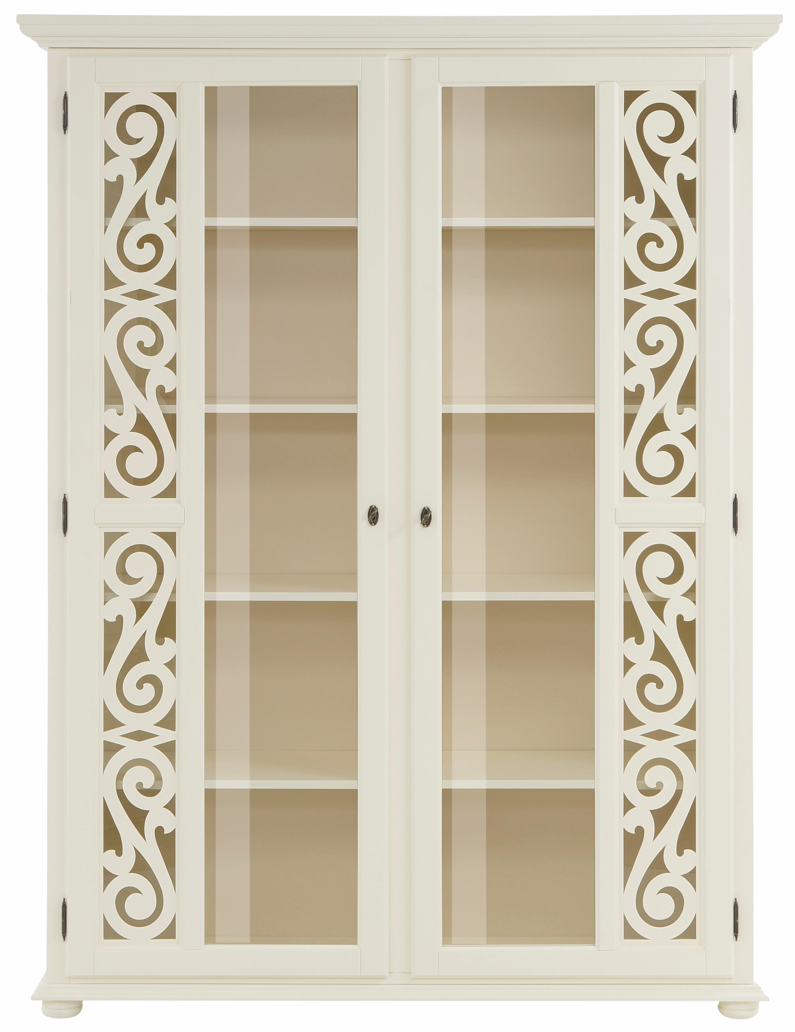 home affaire vitrinekast arabesken in de online shop otto. Black Bedroom Furniture Sets. Home Design Ideas