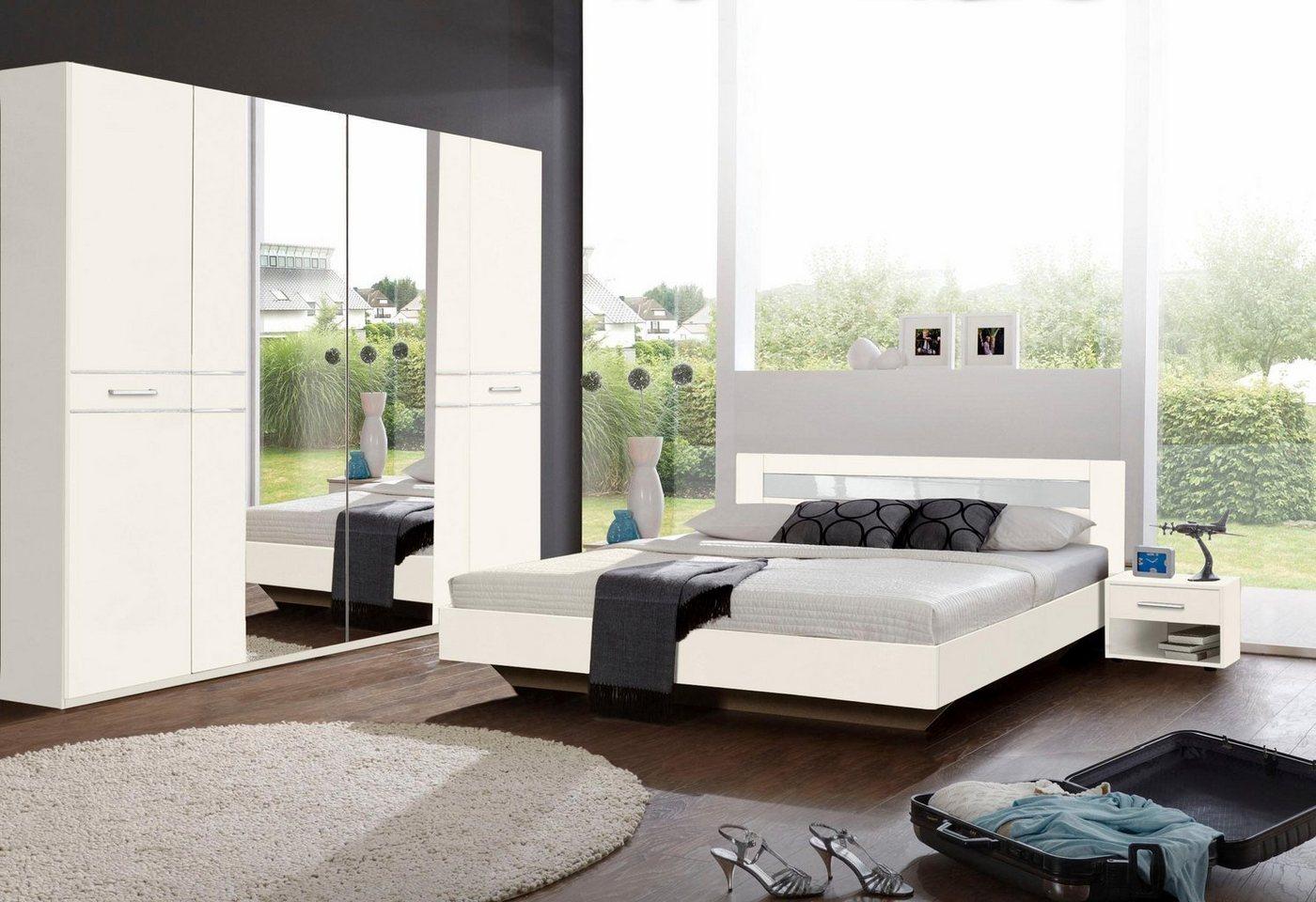 WIMEX slaapkamerserie met garderobekast (4-dlg.)