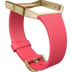 fitbit reserve-verwisselbare armband »slim band l voor blaze« roze