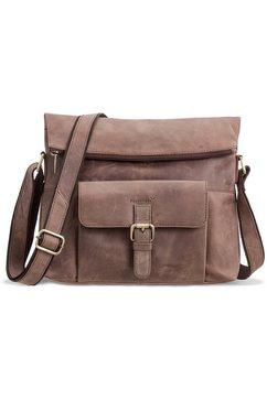 schoudertas met 10-inch-vak voor tablet, »Ivar, donkerbruin«