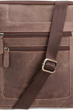 schoudertas met vak voor tablet (10,1 inch), »Thuras, donkerbruin«