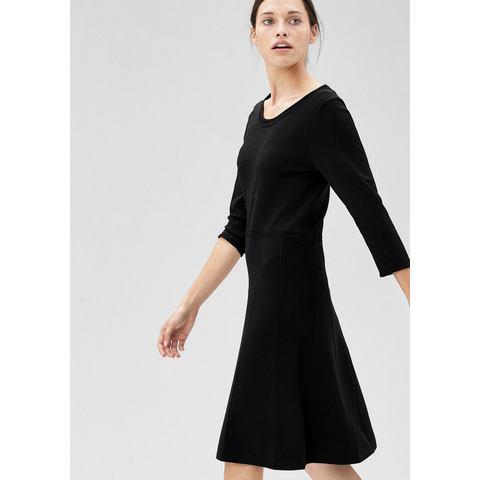 Picture s.Oliver BLACK LABEL Gebreide jurk met retro-appeal zwart 717646