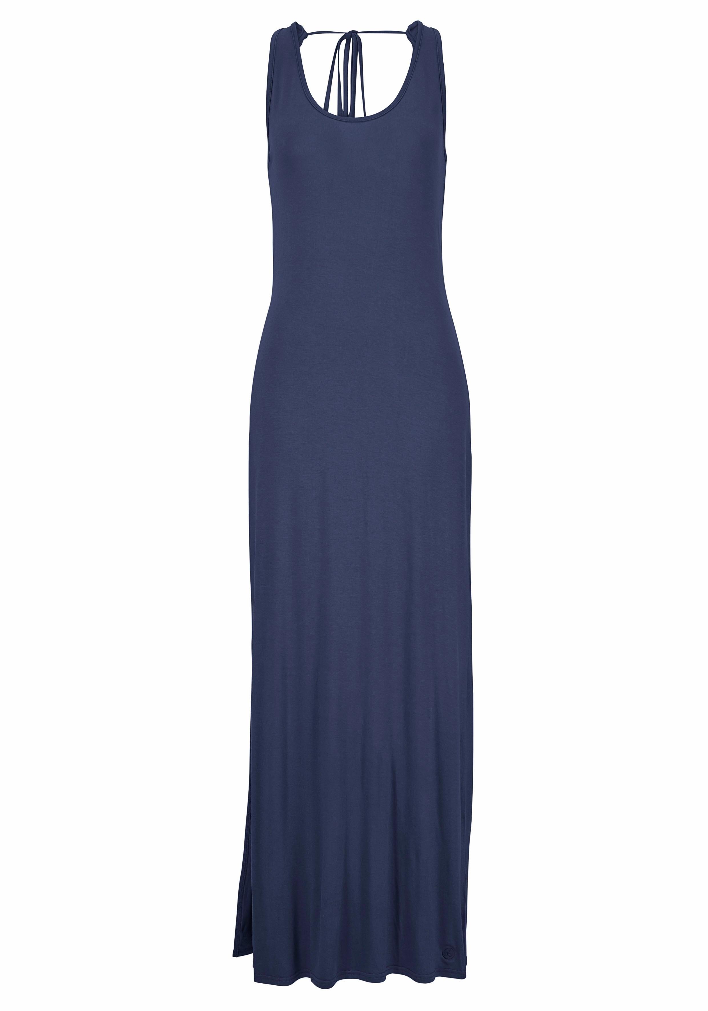 maxi jurk donkerblauw