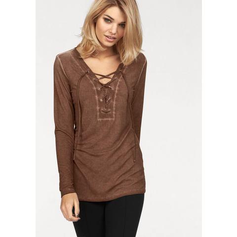 LAURA SCOTT shirt met lange mouwen