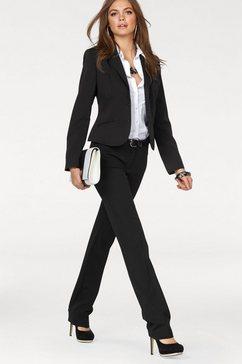 melrose blazer en broek in 2-delige set zwart