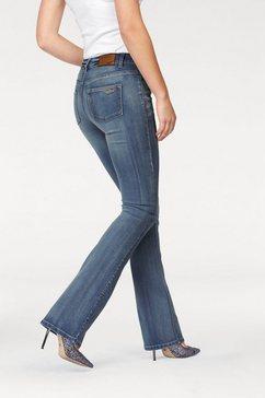 arizona bootcut jeans »baby bootcut« blauw