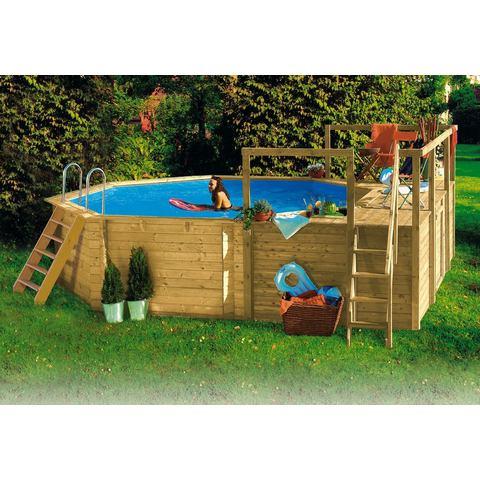 KARIBU set: Achthoekig zwembad