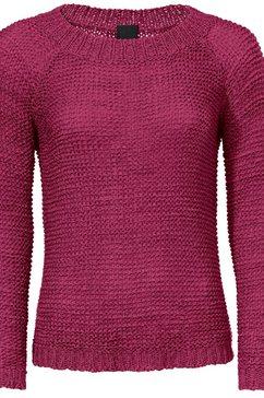 pullover van lintgaren roze